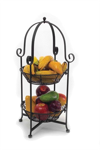 3 Tier Fresh Fruit Rack Creative Breakfast Concepts